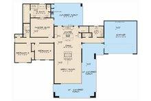 Contemporary Floor Plan - Main Floor Plan Plan #17-2603