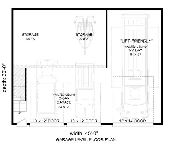 Country Floor Plan - Main Floor Plan Plan #932-92