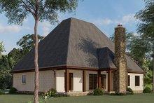 Dream House Plan - European Exterior - Rear Elevation Plan #923-1