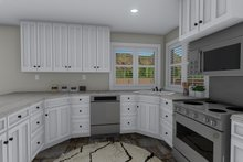 Architectural House Design - Traditional Interior - Kitchen Plan #1060-58