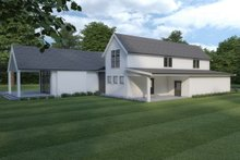 House Plan Design - Farmhouse Exterior - Other Elevation Plan #1070-110