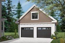 Home Plan - Craftsman Exterior - Front Elevation Plan #23-2277