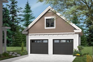 Craftsman Exterior - Front Elevation Plan #23-2277
