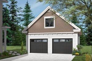 Craftsman Exterior - Front Elevation Plan #23-2277