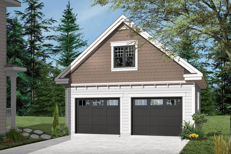 Craftsman Style House Plan - 0 Beds 0 Baths 939 Sq/Ft Plan #23-2277 Exterior - Front Elevation