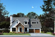Craftsman Style House Plan - 3 Beds 2.5 Baths 1986 Sq/Ft Plan #923-169