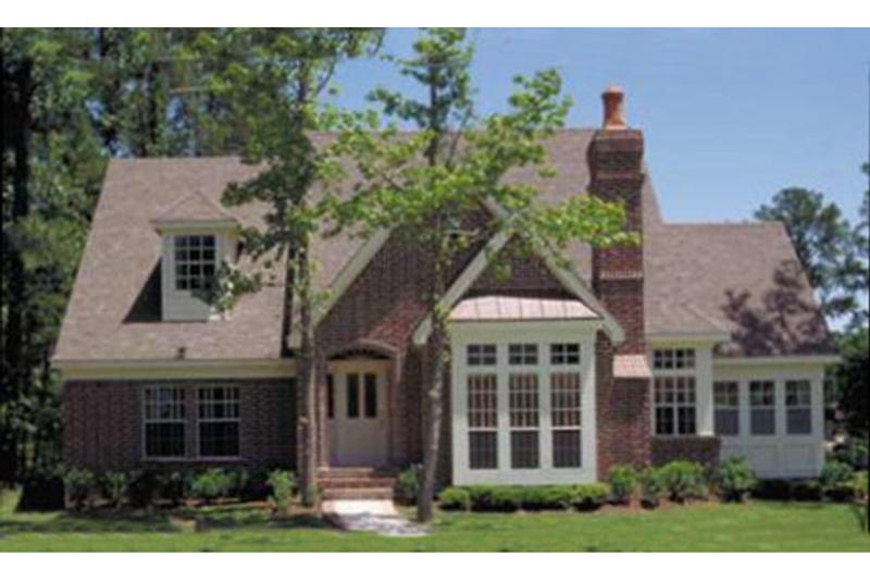 Home Plan - European Exterior - Front Elevation Plan #410-169