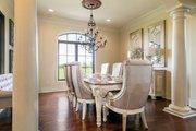 Mediterranean Style House Plan - 4 Beds 4.5 Baths 3474 Sq/Ft Plan #930-276 Interior - Dining Room