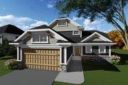 Craftsman Style House Plan - 3 Beds 2.5 Baths 1610 Sq/Ft Plan #70-1265