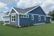 Craftsman Style House Plan - 3 Beds 2 Baths 1561 Sq/Ft Plan #1070-79 Exterior - Other Elevation