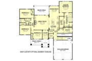 Craftsman Style House Plan - 4 Beds 2.5 Baths 2329 Sq/Ft Plan #430-152 Floor Plan - Other Floor Plan