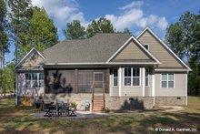 Craftsman Exterior - Rear Elevation Plan #929-949