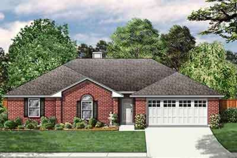 Traditional Exterior - Front Elevation Plan #84-193
