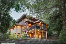Dream House Plan - Contemporary Exterior - Rear Elevation Plan #48-656