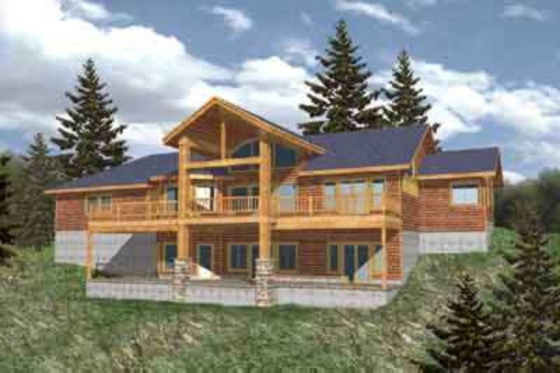 Modern Exterior - Front Elevation Plan #117-276