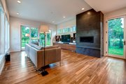 Contemporary Style House Plan - 4 Beds 3.5 Baths 3334 Sq/Ft Plan #1042-19 Interior - Family Room