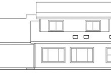 House Design - Farmhouse Exterior - Rear Elevation Plan #124-321