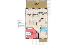 Cottage Floor Plan - Main Floor Plan Plan #63-354