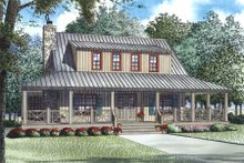 Home Plan - Country Exterior - Other Elevation Plan #17-2517