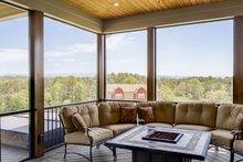 Ranch Exterior - Outdoor Living Plan #929-655
