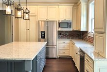 Farmhouse Interior - Kitchen Plan #437-92