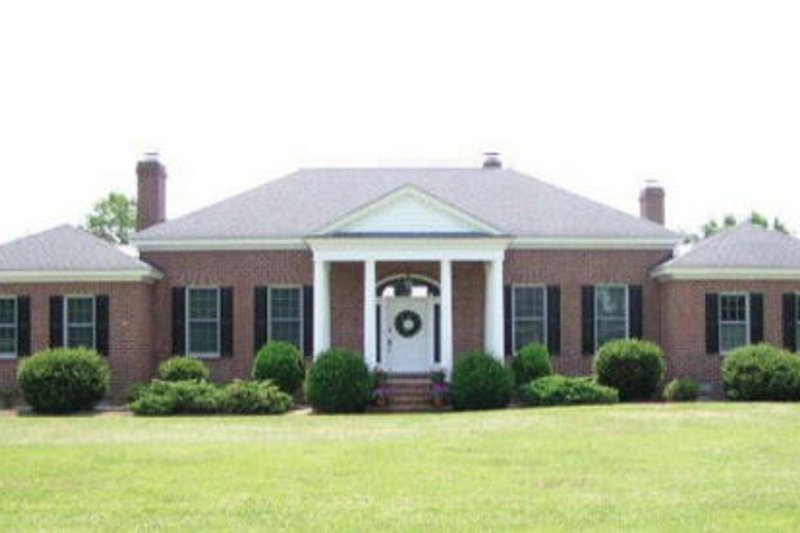 Southern Exterior - Other Elevation Plan #137-116 - Houseplans.com