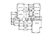 Country Floor Plan - Main Floor Plan Plan #132-203