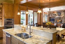 Kitchen - 2900 square foot Craftsman Home