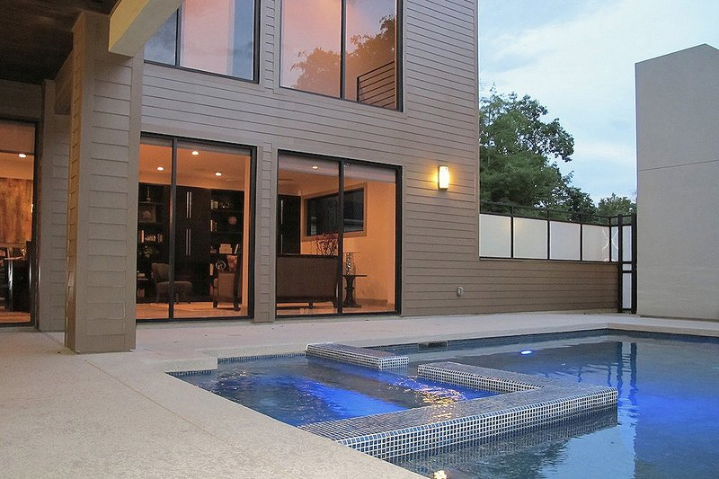 Pool View - 2600 square foot Modern home