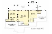 European Style House Plan - 4 Beds 4 Baths 3478 Sq/Ft Plan #929-1037 Floor Plan - Lower Floor Plan