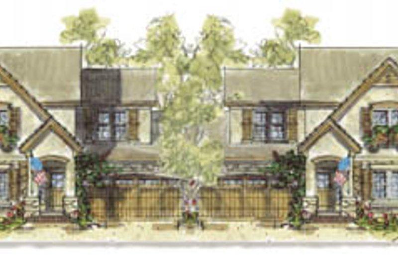 Cottage Exterior - Front Elevation Plan #20-1263