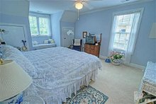 Bedroom - 2600 square foot Southern home