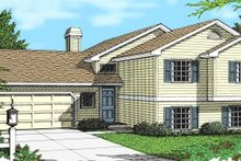 Traditional Exterior - Front Elevation Plan #97-304