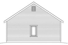 Dream House Plan - Country Exterior - Rear Elevation Plan #22-601