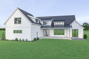 Farmhouse Style House Plan - 4 Beds 3.5 Baths 3023 Sq/Ft Plan #1070-42 Exterior - Rear Elevation