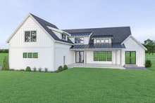 Farmhouse Exterior - Rear Elevation Plan #1070-42