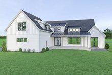 Dream House Plan - Farmhouse Exterior - Rear Elevation Plan #1070-42