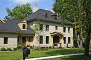 Classical Style House Plan - 3 Beds 3.5 Baths 3281 Sq/Ft Plan #928-240 Exterior - Front Elevation