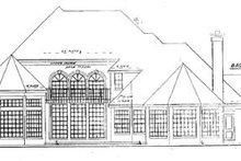 Dream House Plan - European Exterior - Rear Elevation Plan #52-119