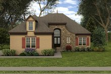 Dream House Plan - European Exterior - Front Elevation Plan #413-874