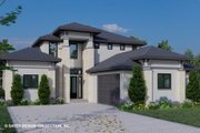 Contemporary Style House Plan - 4 Beds 4.5 Baths 2921 Sq/Ft Plan #930-515