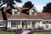 Country Style House Plan - 3 Beds 2 Baths 2201 Sq/Ft Plan #312-160 Exterior - Front Elevation