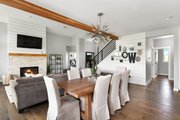 Farmhouse Style House Plan - 3 Beds 2.5 Baths 2878 Sq/Ft Plan #1070-10 Interior - Dining Room