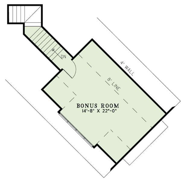 European Floor Plan - Upper Floor Plan #17-2529