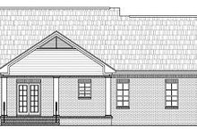 Southern Exterior - Rear Elevation Plan #21-209