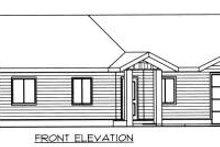 Dream House Plan - Modern Exterior - Other Elevation Plan #117-582