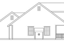 Dream House Plan - Farmhouse Exterior - Other Elevation Plan #124-308