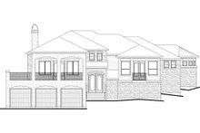 Dream House Plan - Mediterranean Exterior - Other Elevation Plan #80-178