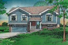 House Plan Design - Traditional Exterior - Front Elevation Plan #20-134