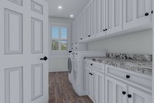 Cottage Interior - Laundry Plan #1060-64